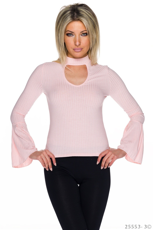 Shirt met lange mouwen Roze