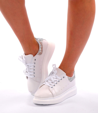 Sneakers White / Silver