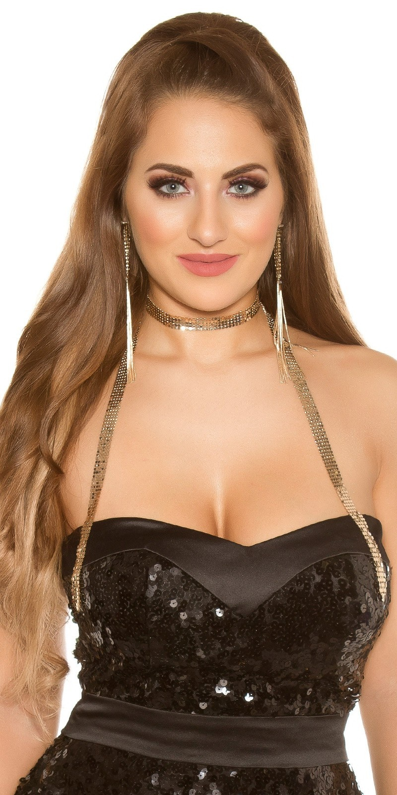 Sexy necklace Gold