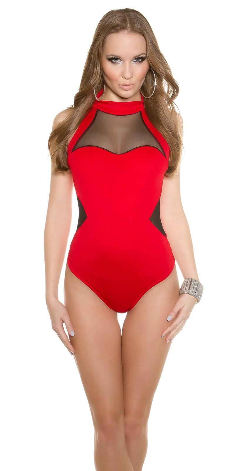 Trendy body rood