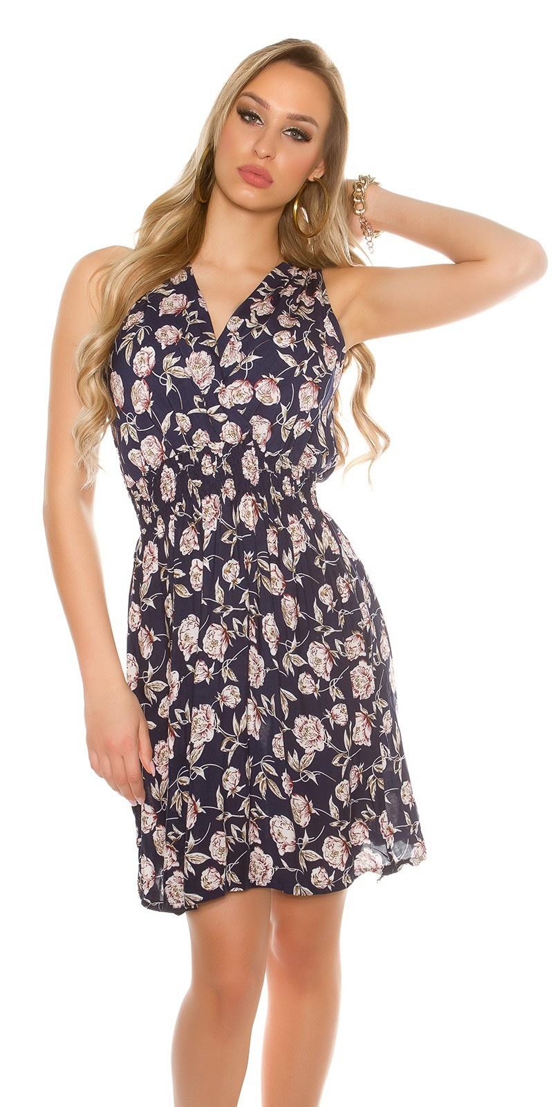 Flowered Summer Dress