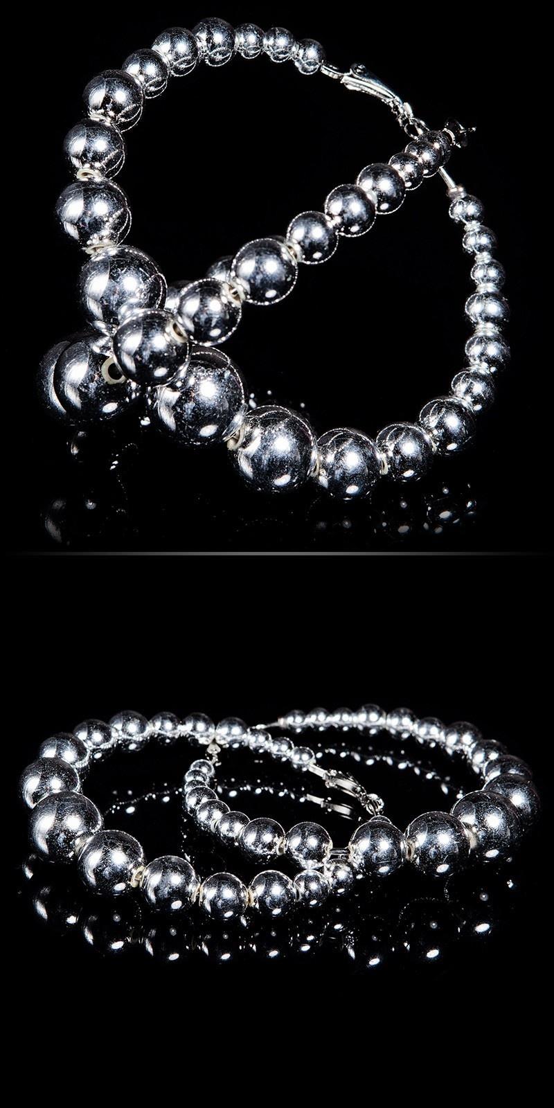 Trendy oorbellen zilver