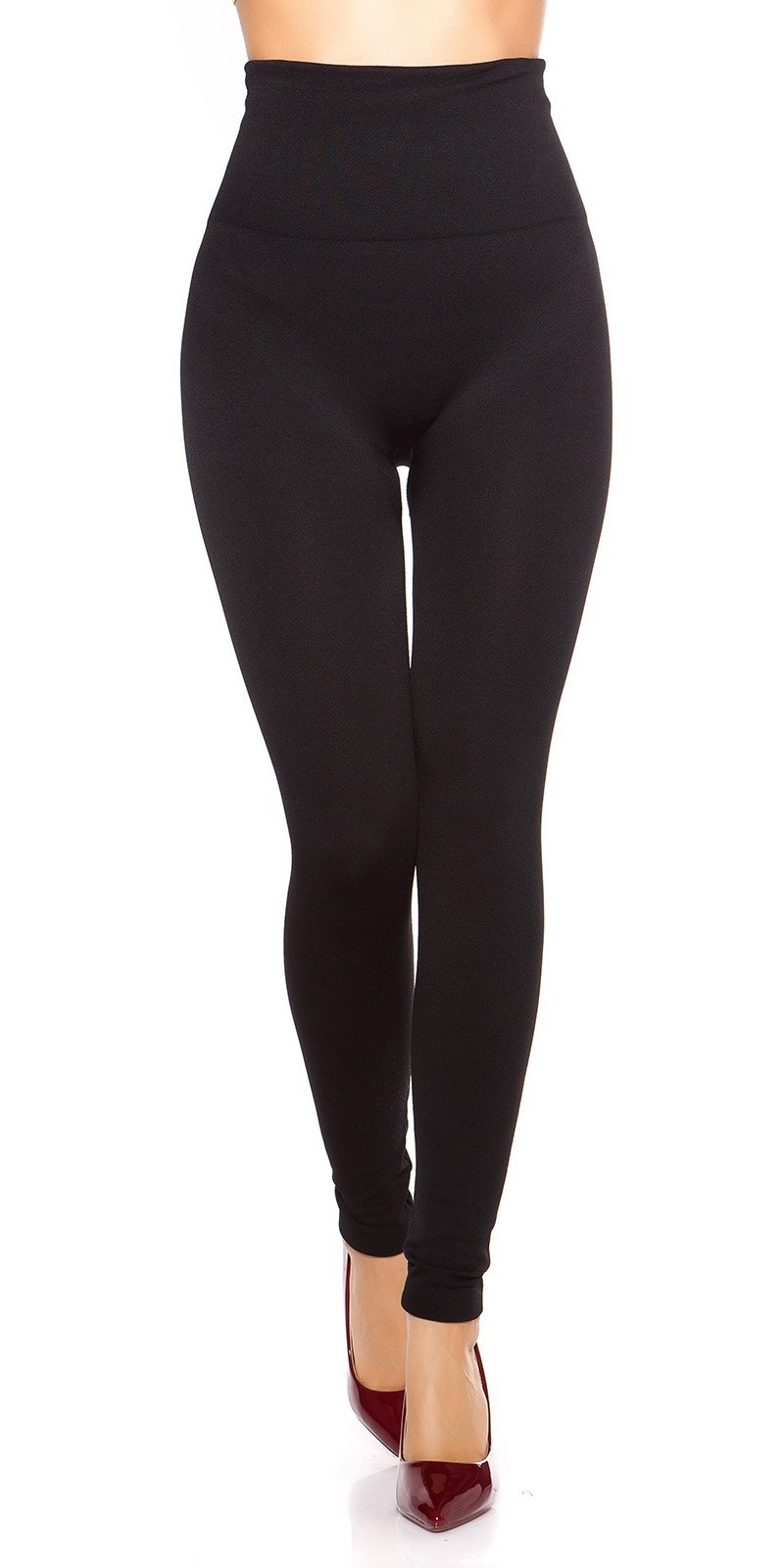Sexy Thermo Shape High Waist Leggings Black