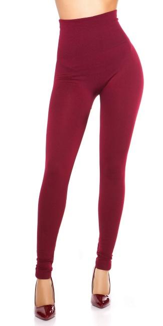 eee50d8e22 Sexy Thermo Shape High Waist Leggings Bordeaux - ai0000ENLEG15-501-3 ...