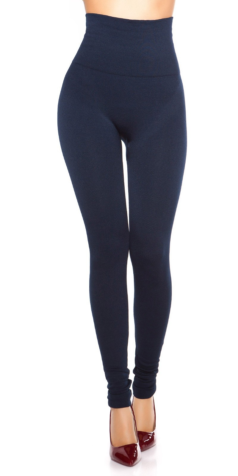 Sexy Thermo Shape High Waist Leggings Navy