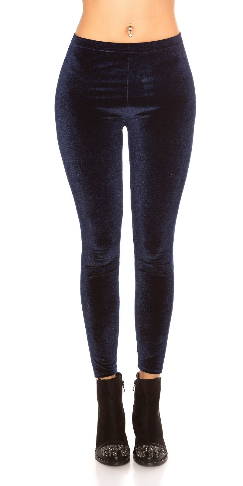 Trendy nicki leggins blauw