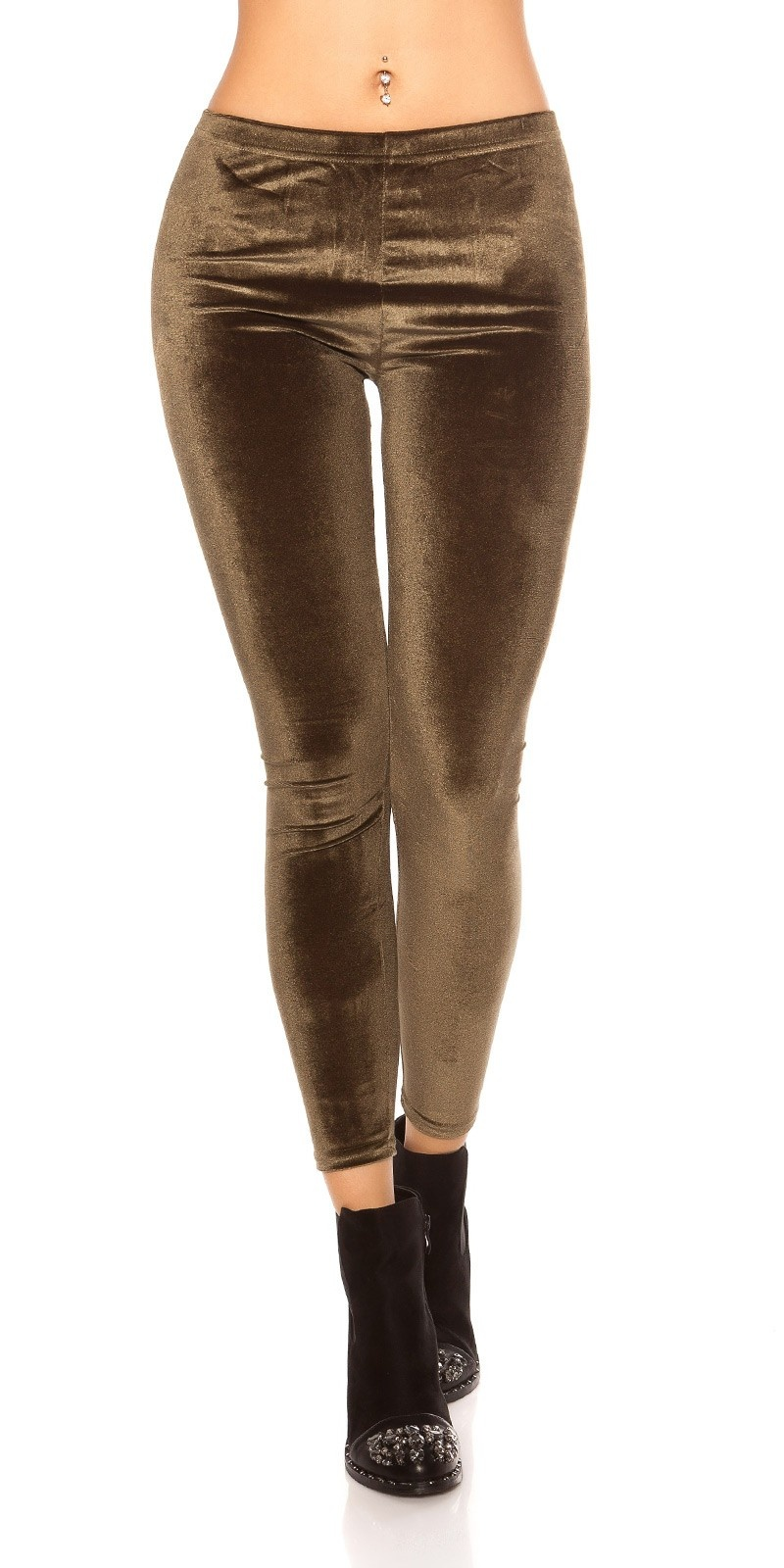 Trendy nicki leggins Khaki