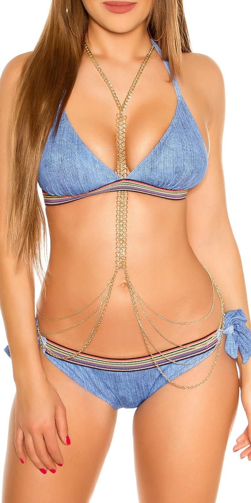 Bikini lichtblauw