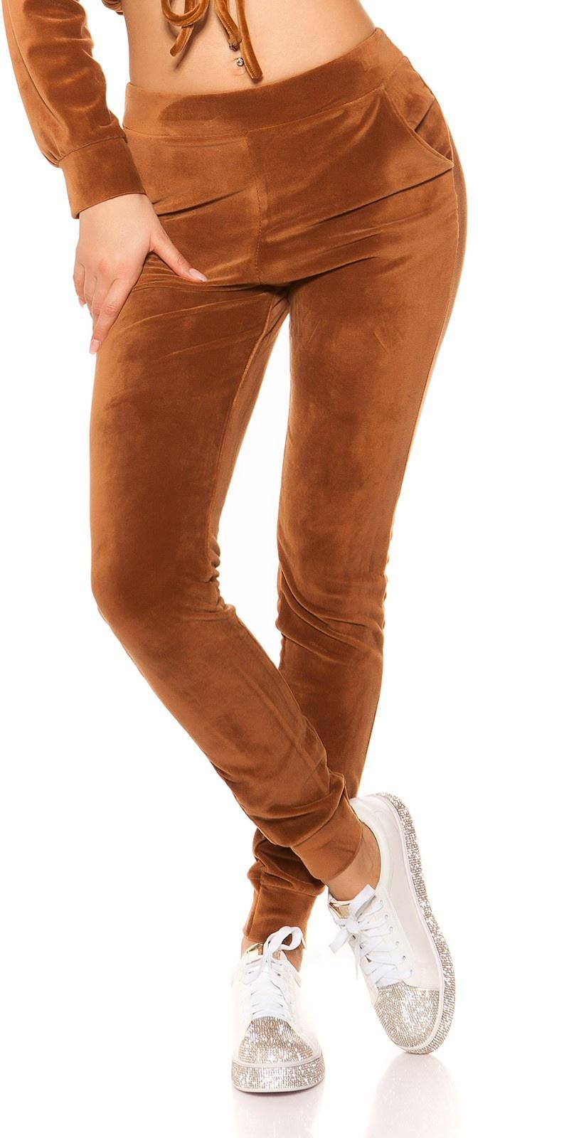 Trendy nicki joggingbroek bruin