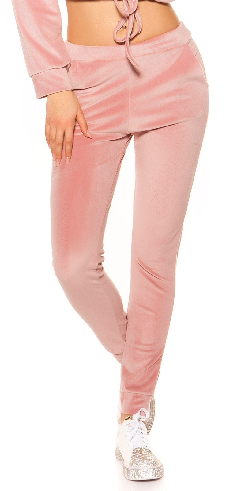 Trendy nicki joggingbroek roze