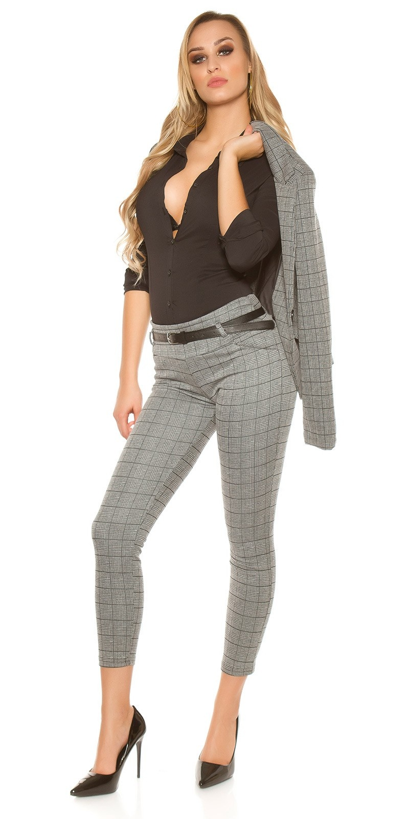 Sexy KouCla Business pants Grey