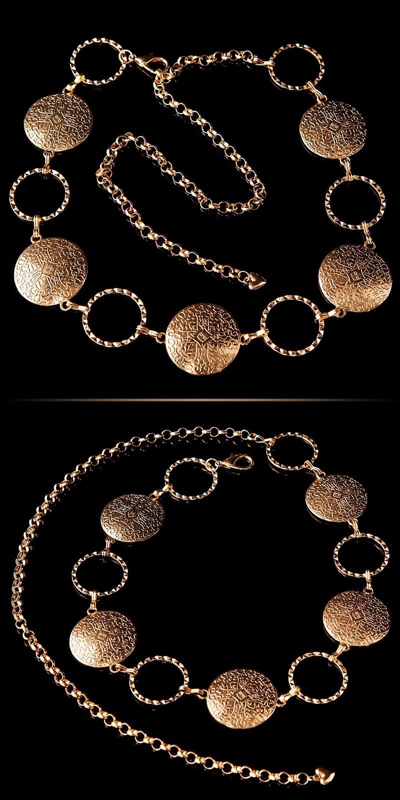 Trendy Chainbelt Gold