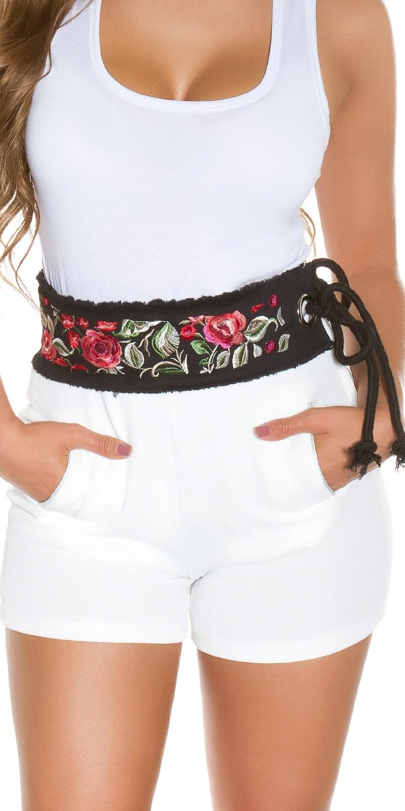 Trendy Waist Belt Boho-Style Black