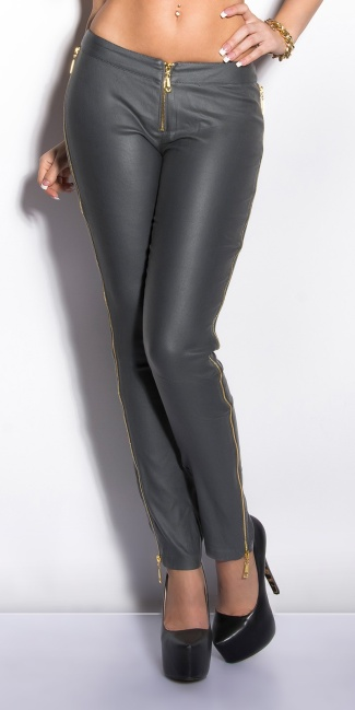 Sexy KouCla treggings with zips Grey