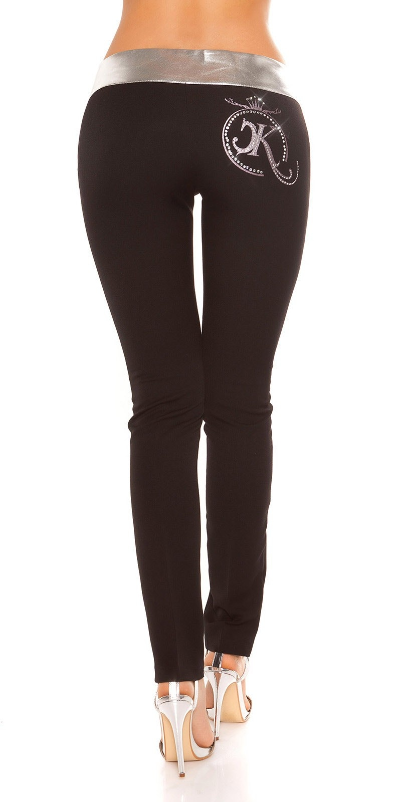 Sexy Skinny KouCla Partypants Blacksilver