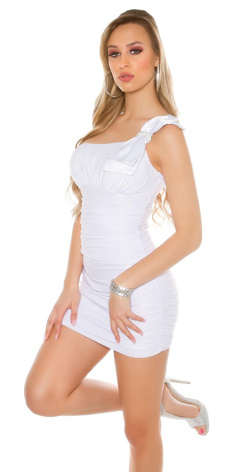 Sexy mini jurkje wit