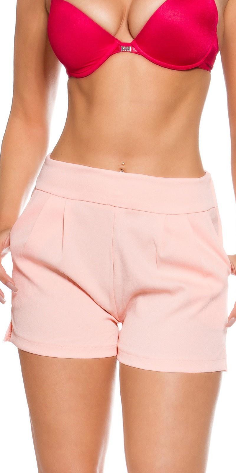 Shorts abrikoos