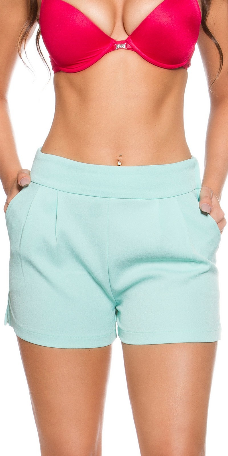 Shorts mintgroen
