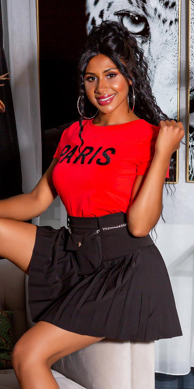 Trendy paris shirt rood