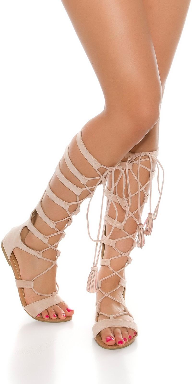 Sexy roman sandals Beige