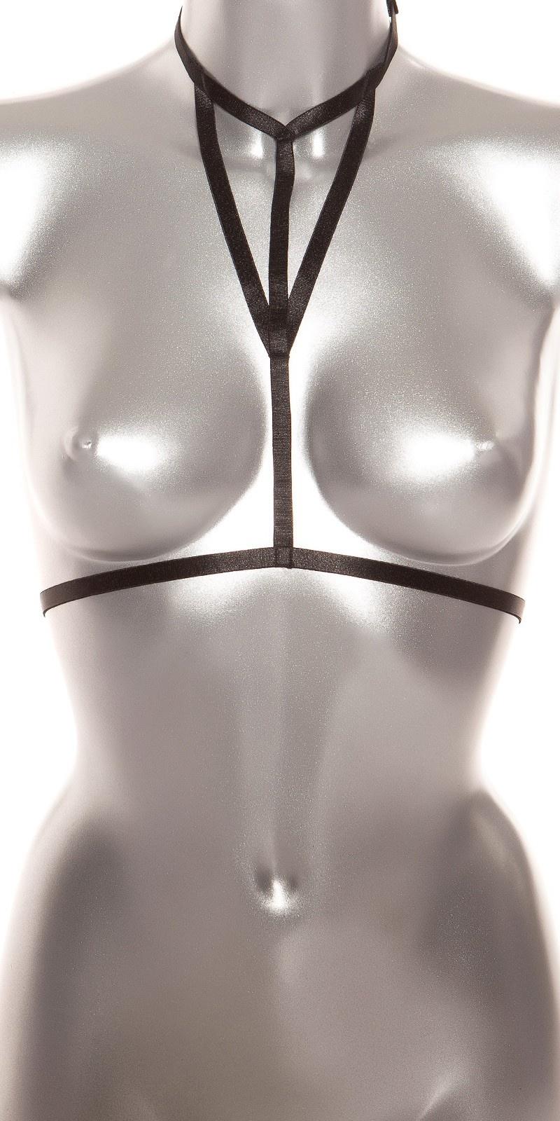 Sexy bodystrap zwart