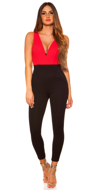 Sexy Koucla Jumpsuit Red