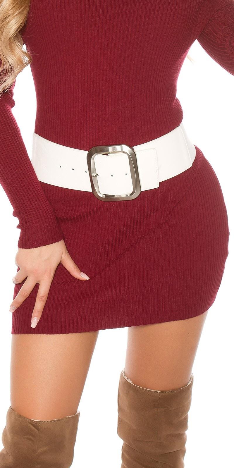 Sexy hip belt White