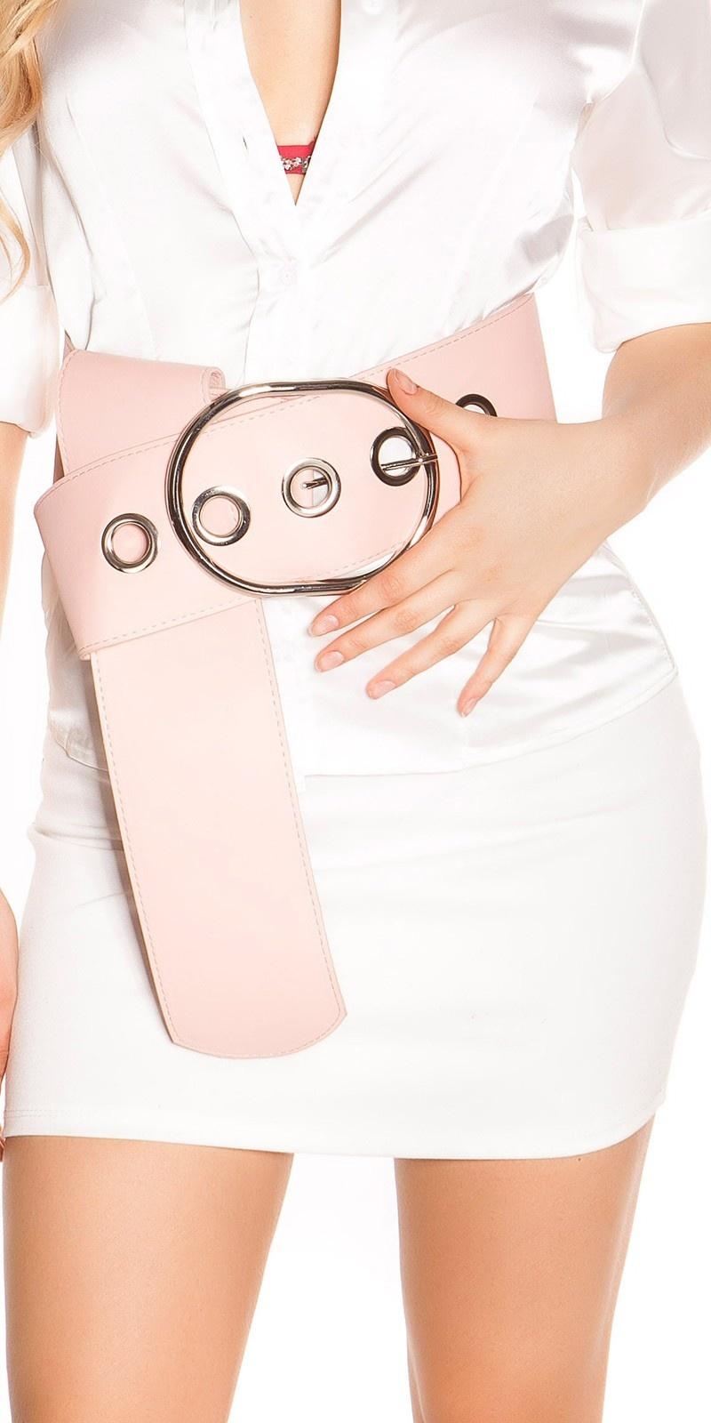 Sexy xxl taille riem roze