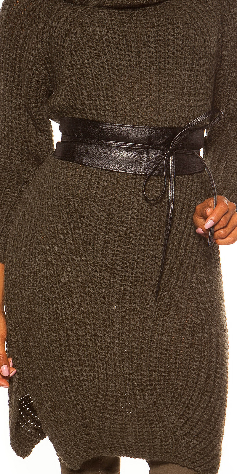 Trendy waist belt Black