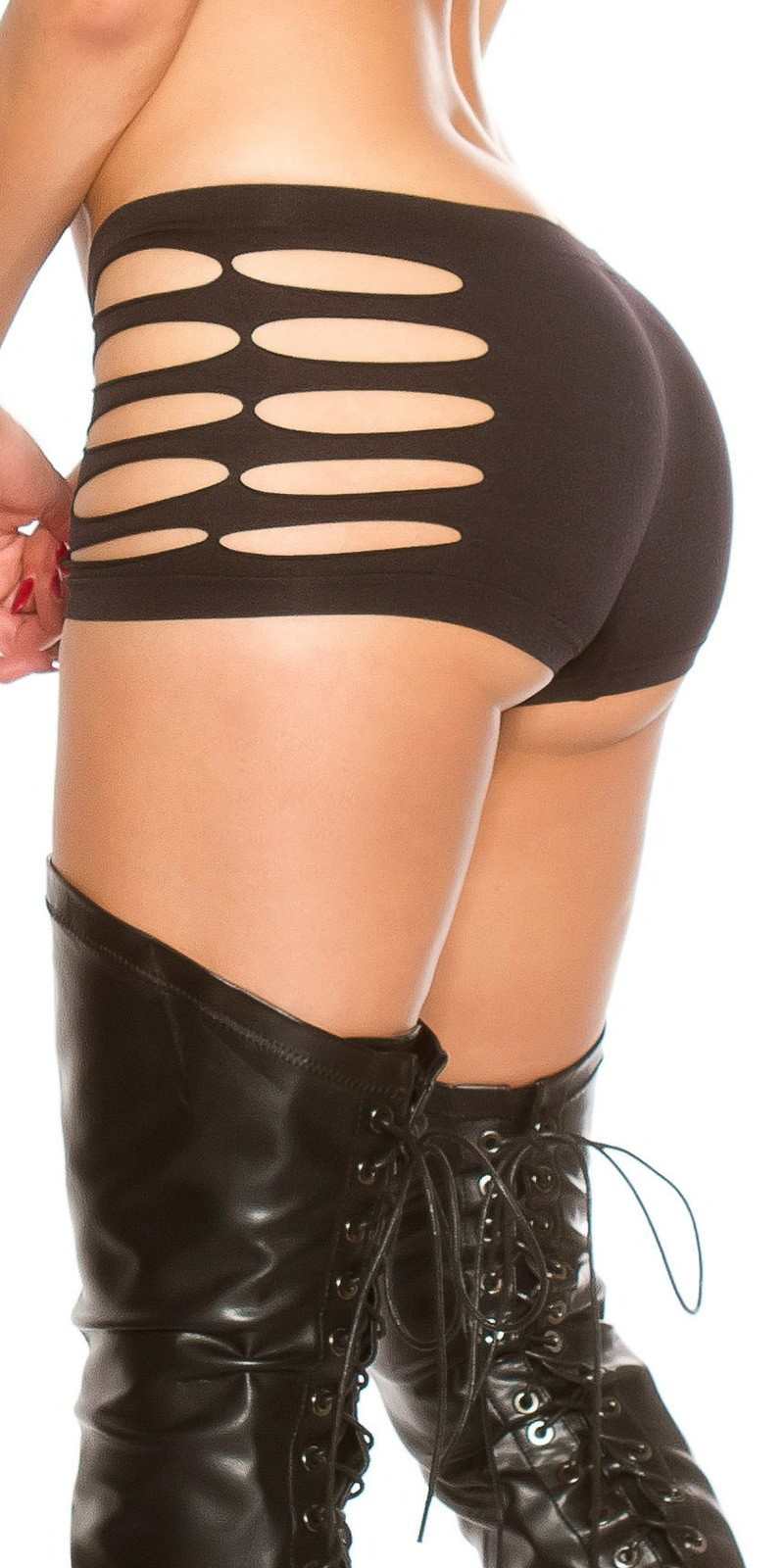 Sexy KouCla panties with cut outs Black