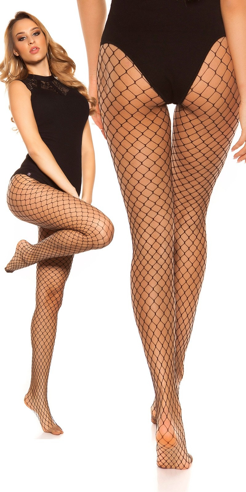 Sexy net tights Black