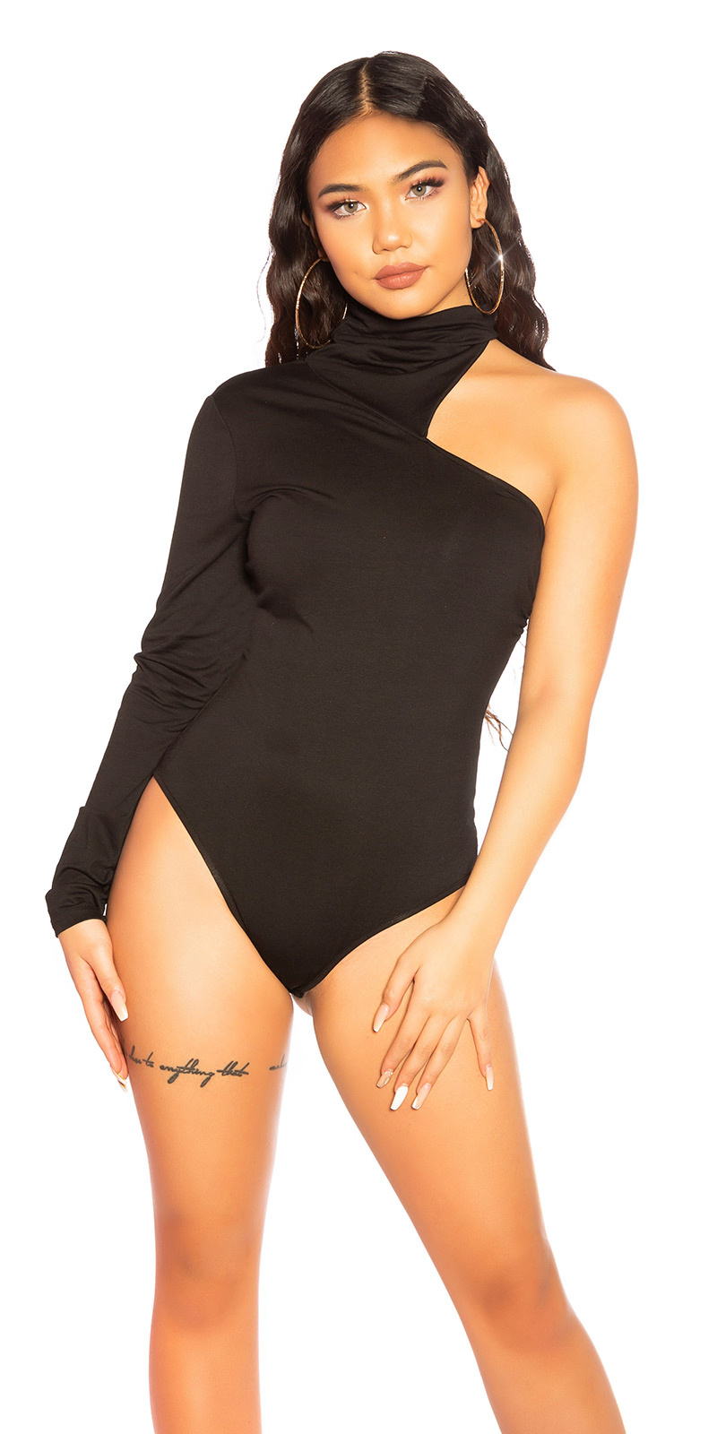 Sexy Koucla turtleneck-body Black