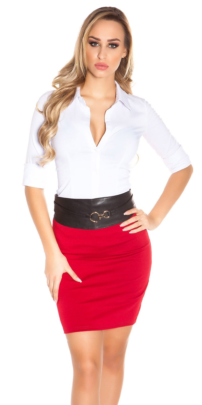 Sexy Wrap Hip Belt Black