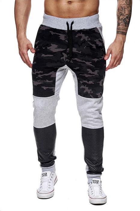 Joggingbroek Camouflage-grijs