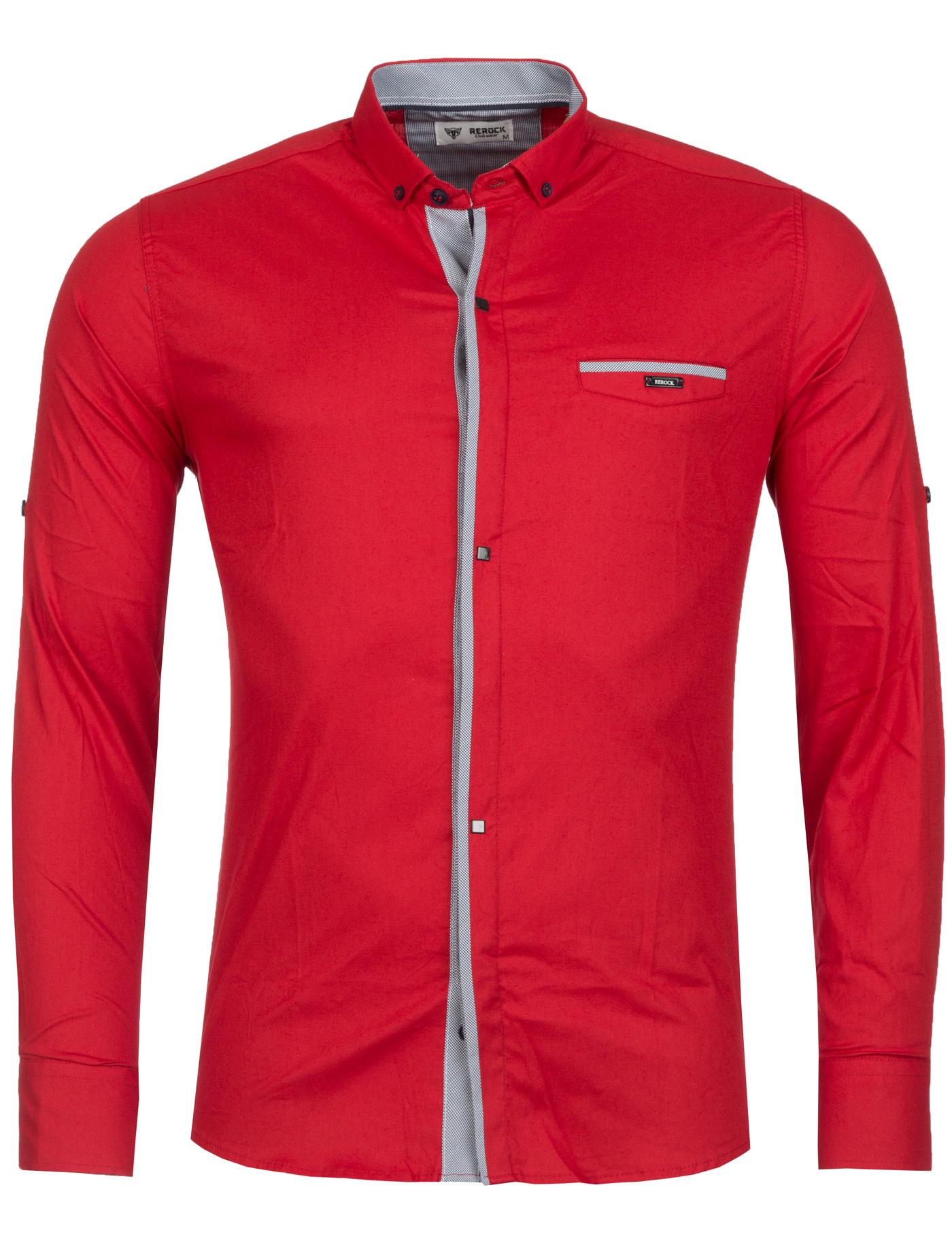 Overhemd Rood