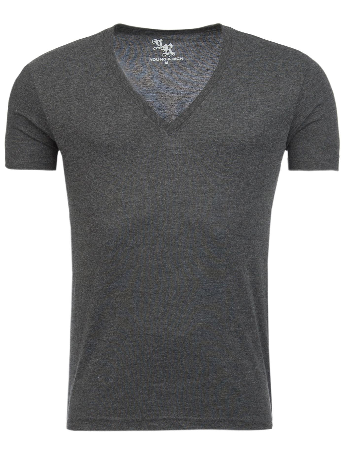 T-Shirt Anthraciet