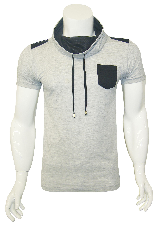 Sal Yaka T-Shirt Grijs