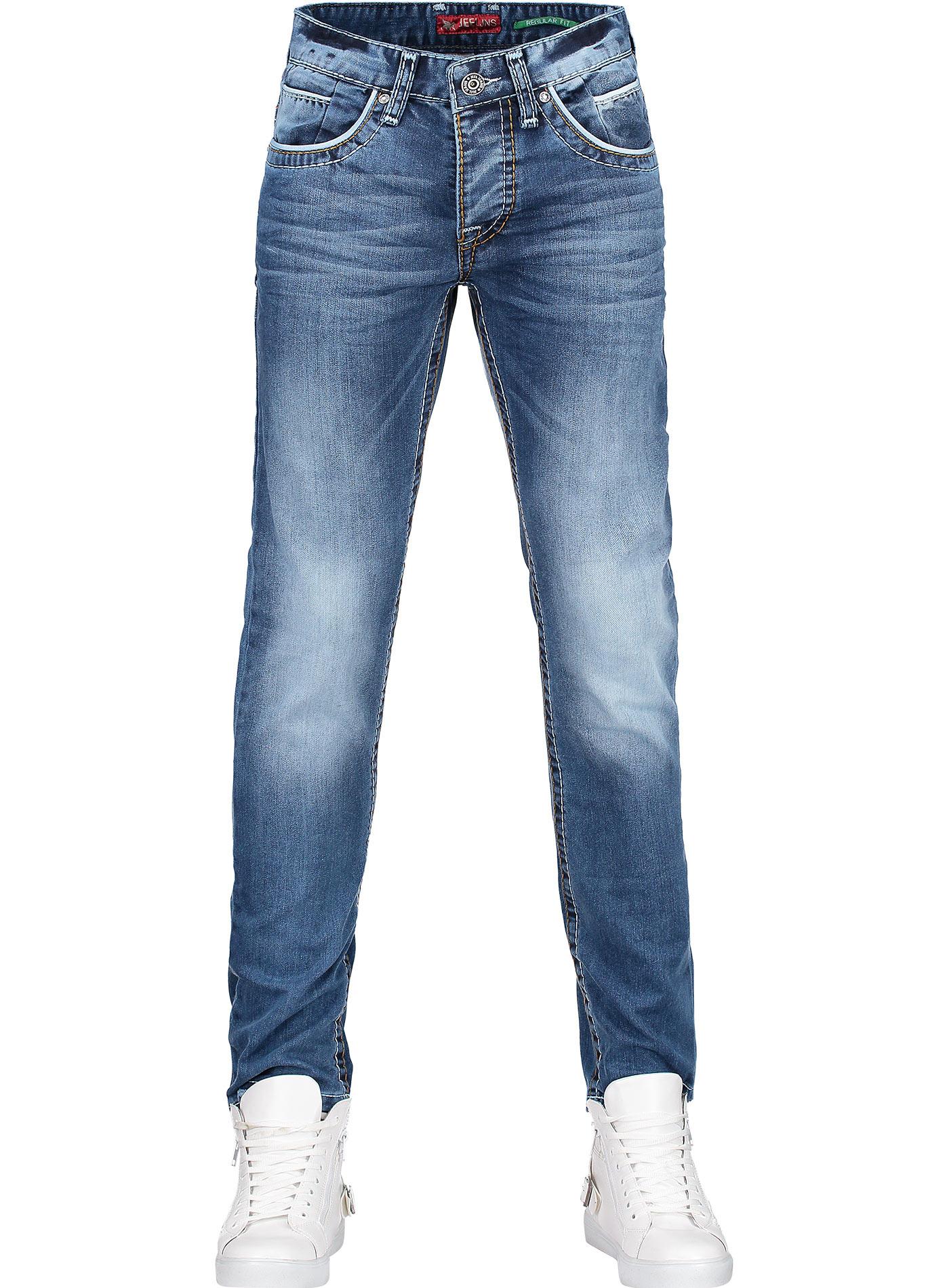 Jeans Donker-Blauw