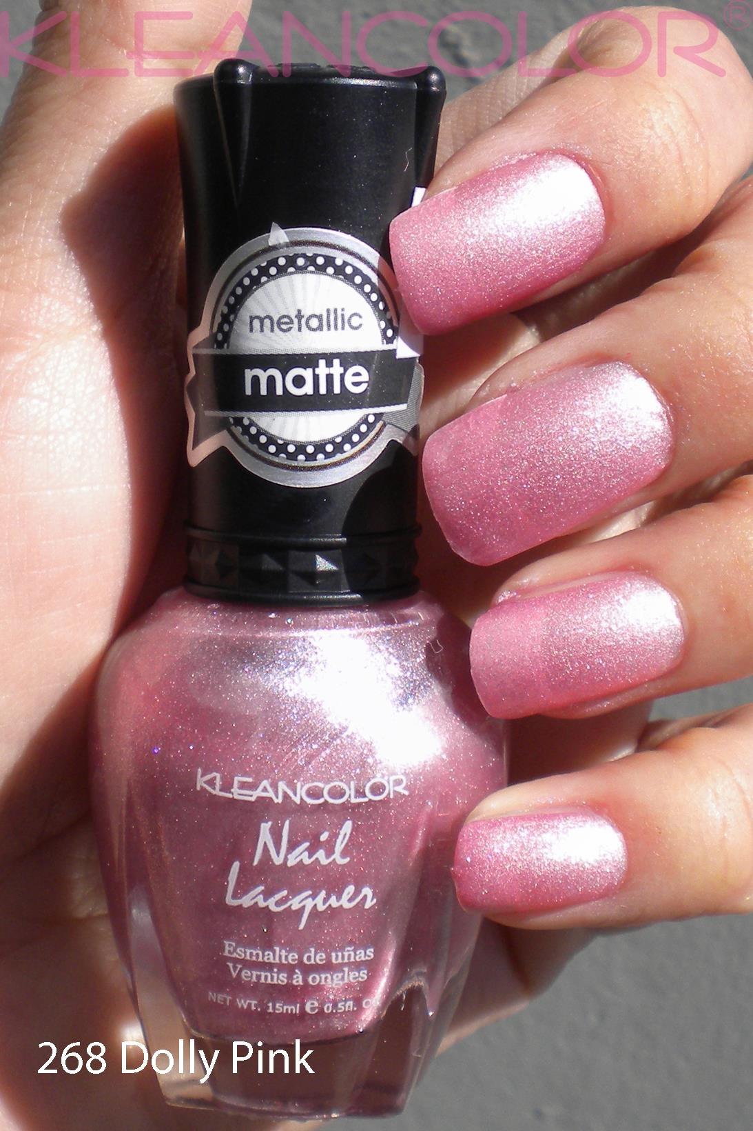 Nagellak dolly pink