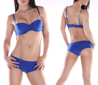 Bra without Pants Blue