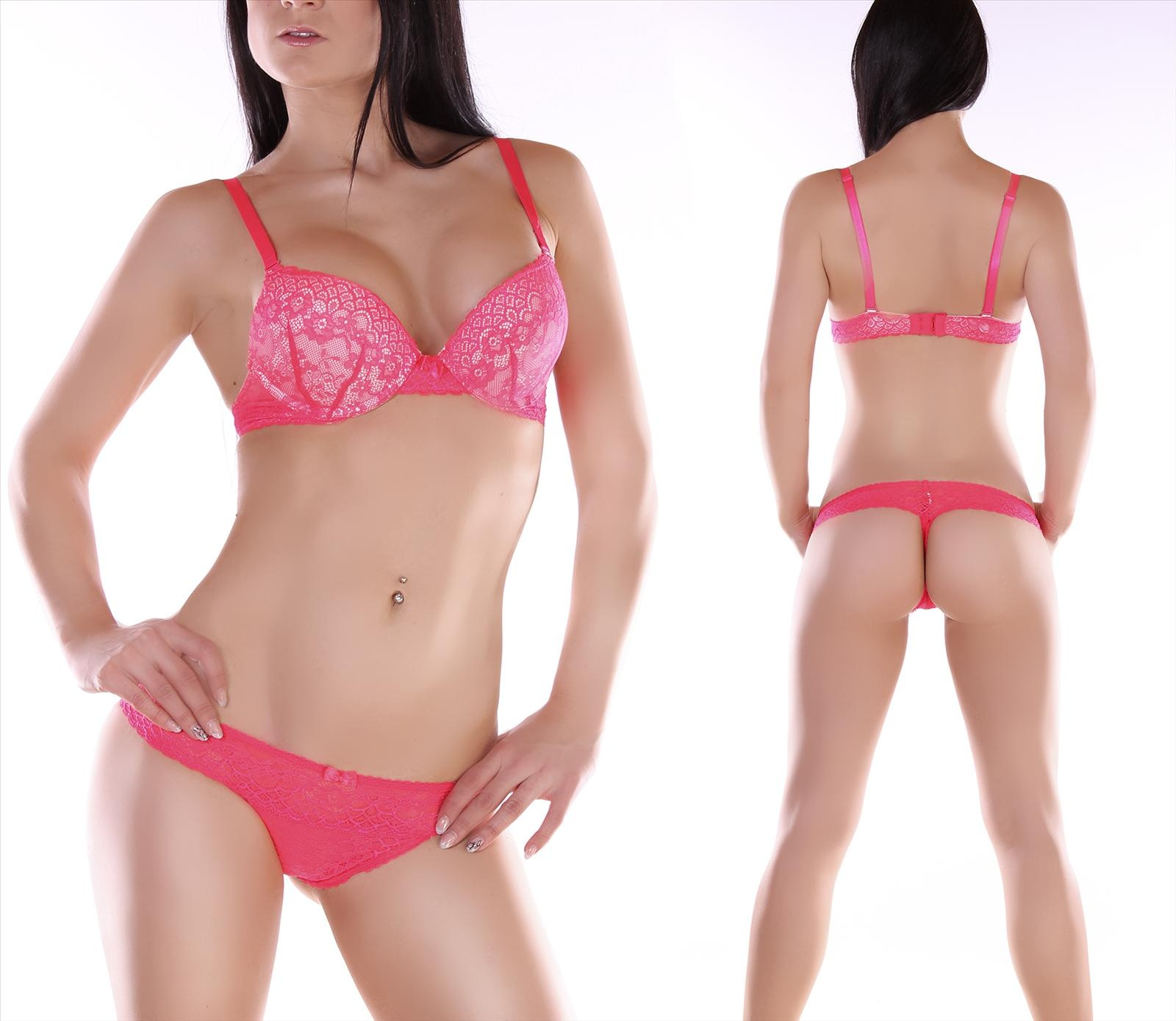 Push-Up-BH + String Roze