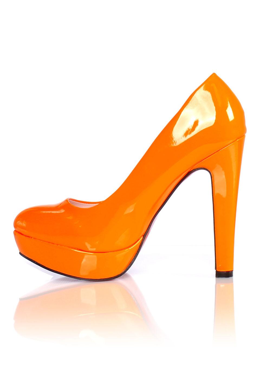 Lak Pumps Oranje