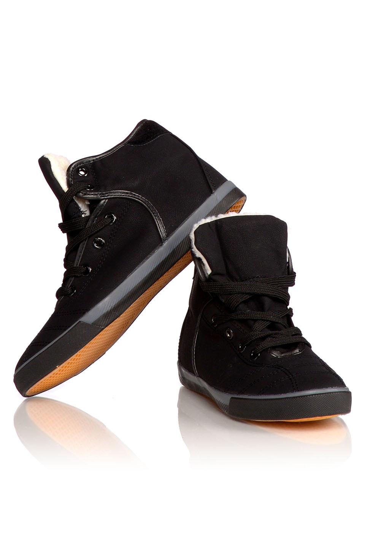 Gevoerde Sneakers Zwart