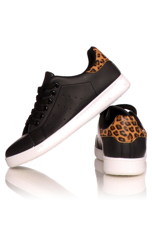 Sneakers Black - Leopard