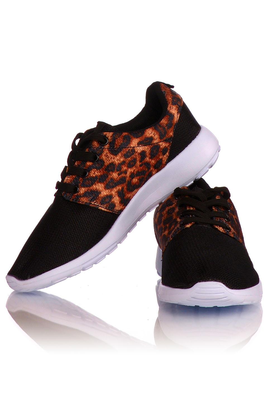 Sneakers Zwart - Luipaard