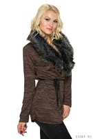 Cardigan Darkbrown
