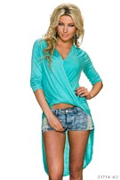 Mullet Shirt Turquoise-Groen