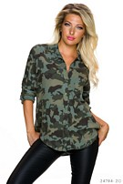 Blouse Camouflage