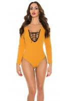 Trendy body with sexy insight Mustard
