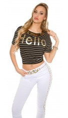 Trendy T-Shirt striped